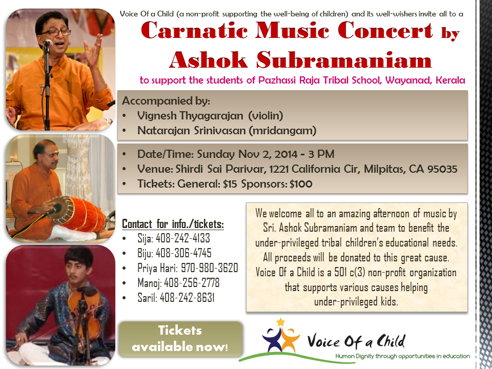 Carnatic Concert Nov 2014